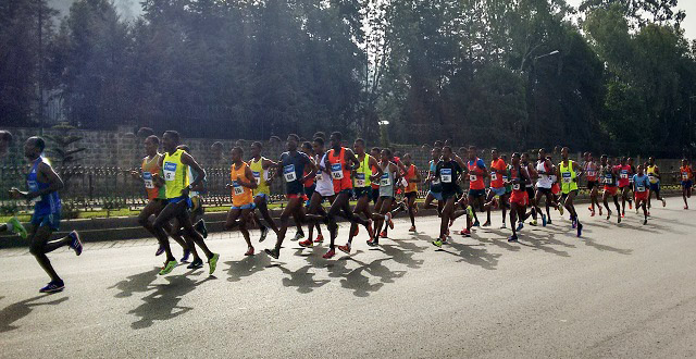 Runnng in Addis Ababa