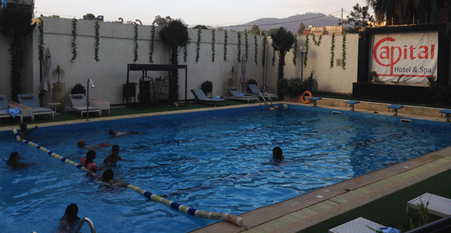 Capital Hotel, Swimming Pools in Addis Ababa