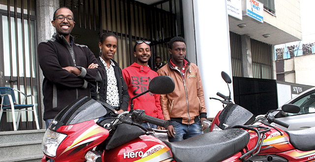Deliver Addis Team