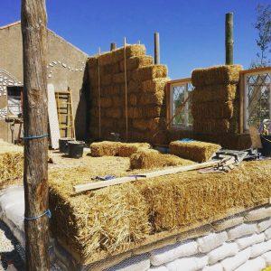 Building a mutha fuckin straw bale house!